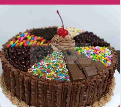 Chocolate Candy Cake