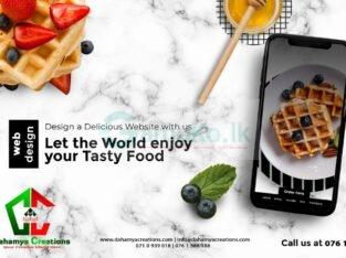 Restaurant Website with Online Order System   Web