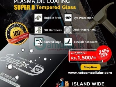 TEMPERED GLASS FOR IPHONE 7 | 7+ | 8 | 8+