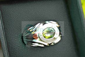 Peridot GemStone Silver Ring