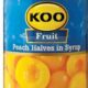 Koo Fruit   Peach Halves in Syrup (Limited Stock)
