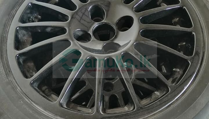 16 inch dura thaw alloywheels with tyres new pain