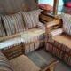 Teak Sofa Set For Sale