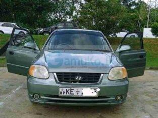 Hyundai Accent Car For Sale (2002)