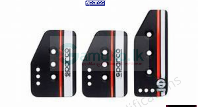 Sparco pedal covers
