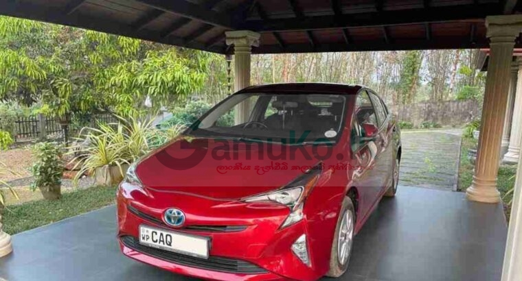 Toyota Prius 4th Gen Car For Sale (2016)