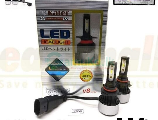 Kaier led head light came with-LM 7200-6000K Colour Temp-Consumes only 50% Watts of Halogen-Over 5 times lumes of light than Halogen-30000 hours – Ten than HalogenPlug and play-Type – H4Rs.4,750/=(With warranty)Island Wide delivery. Call for more info – 071-4222777